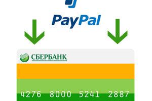 Добавление счета карты в учетную запись Paypal