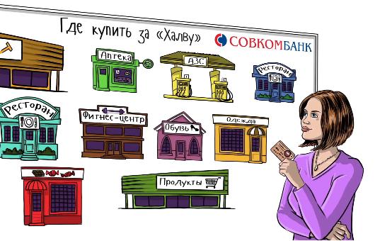 Карта рассрочки Халва от Совкомбанка. Условия оформления, тарифы, отзывы и список магазинов-партнеров.