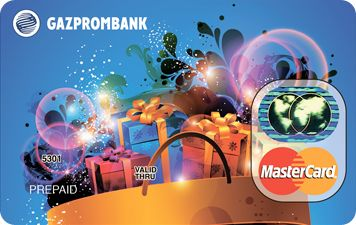 Подарочная карта Газпромбанка
